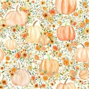 """8"""" Fall Pumpkin Forest - Halloween, Autumn"""