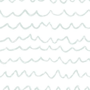 sea green ripples and waves