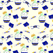 Covid Graduation 2020 Blue and Gold TP