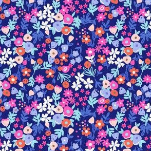 painted meadow // candied deep blue