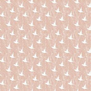 BKRD Hummingbirds - White Pink 2x2