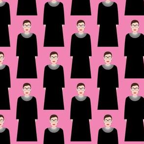 Ruth Bader Ginsburg RBG - Hot Pink