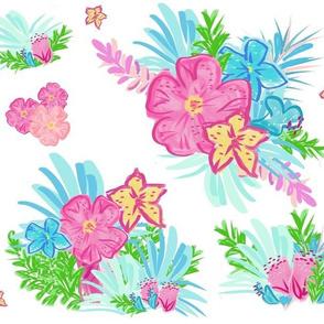 paradise floral tropics - XL 14