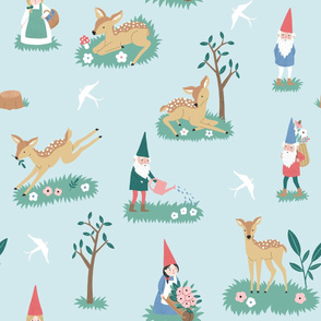 Deers and gnomes