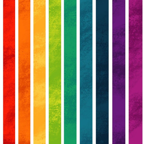 Rainbow Striped Pattern