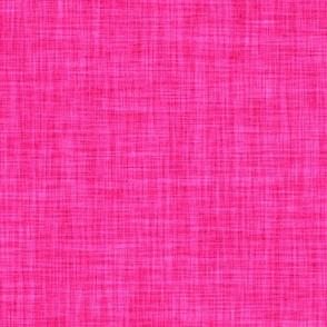 hot pink linen