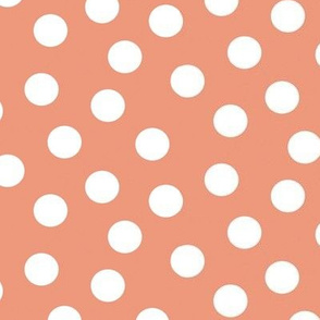 Polka Dots Dusty Pink