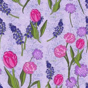 Tea Party In The Garden in Lavender