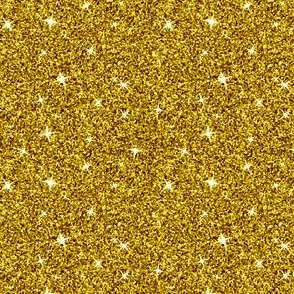 Sparkle Gold Yellow Glitter Pattern (Small-Scale)