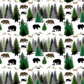 Canadian Wilderness - wild & free... white, medium