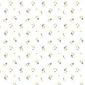 S - Yellow Poppies