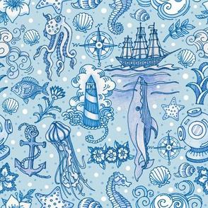 Ocean Toile
