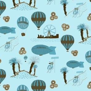 Steampunk Hot Air Balloons