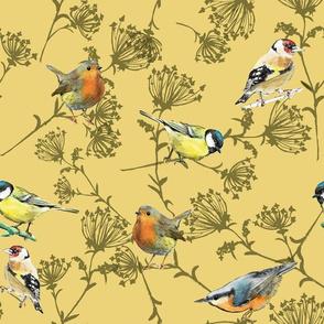 Spring birds_gelb