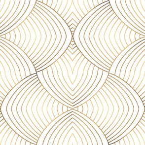 Eileen (gold and white)