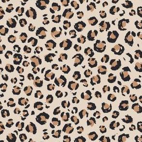 Mini Micro // 2020 Animal Print brown and tan leopard print