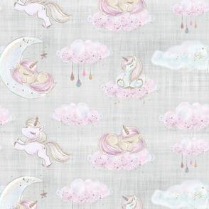 unicorn new grey linen
