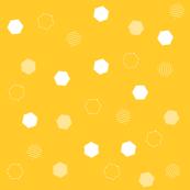 Yellow Hexagons