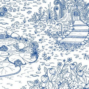 Enchanted Forest Toile