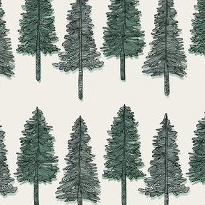 Toile Trees