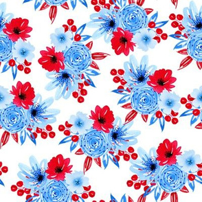 BKRD American Dream Floral 8x8