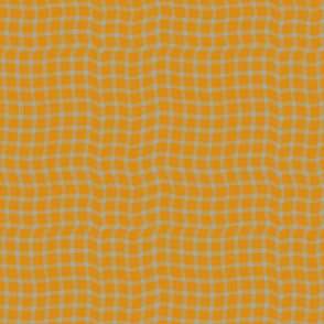 Untraditional Plaid- 2 Color - Yellow