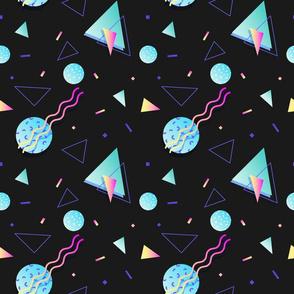 raddest shapes-black