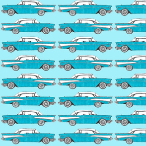 Cars in Blues