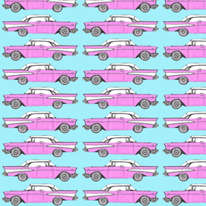 Cars in pink