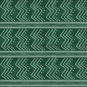 Native Zigzag-green