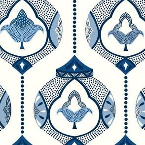Moroccan lamps/classic blue/medium