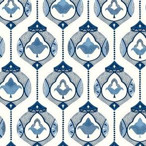 Moroccan lamps/classic blue/small