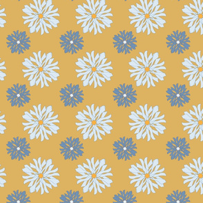 Arvensis on yellow