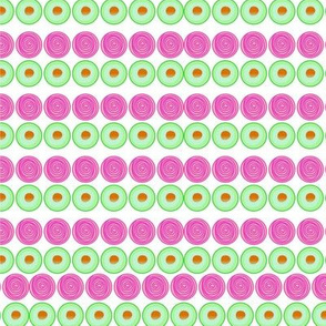 Dragon Fruit and Avacado Pattern-02
