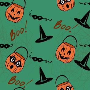 Pumpkins and boos