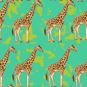 Animals  multi color pattern design.