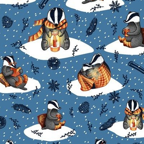 hygge badgers blue smaller