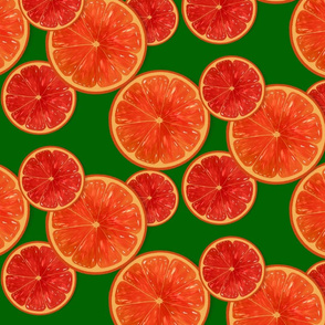 Oranges-light green