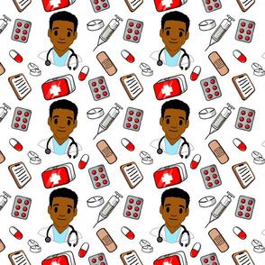 Black man Doctor