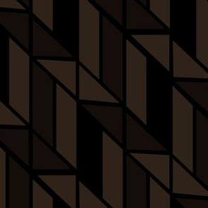 Brown Abstract Geometric