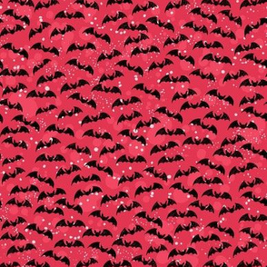 Little Red Bats Halloween