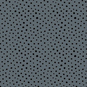 Tiny speckles little abstract boho cheetah spots and dots neutral nursery charcoal gray black
