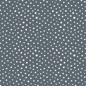 Tiny speckles little abstract boho cheetah spots and dots neutral nursery charcoal gray white