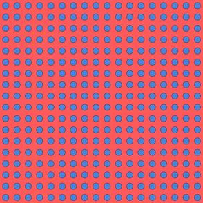 jays dot 2-bright coral