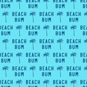 "(3/4"" scale) beach bum - blue on blue - C20BS"