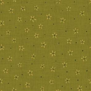 Birdie coordinate  - olive green
