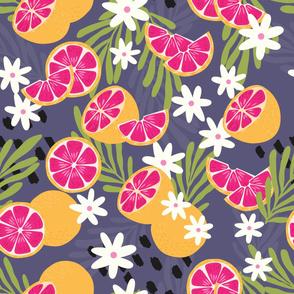 Fruit Grapefruit Pattern 16