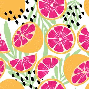 Fruit Grapefruit Pattern 17
