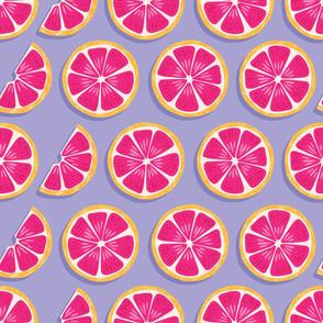 Fruit Grapefruit Pattern 018