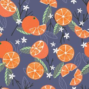 Fruit Orange Pattern 21